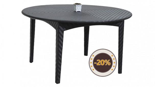 Table en résine tressée BRESCIA