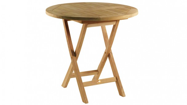 Table en teck massif VALLAURIS  pour 2 à 3 personnes