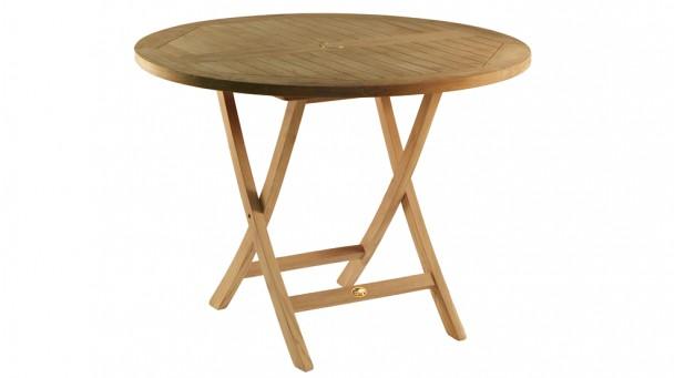 Table en teck massif BIOT pour 4 à 5 personnes