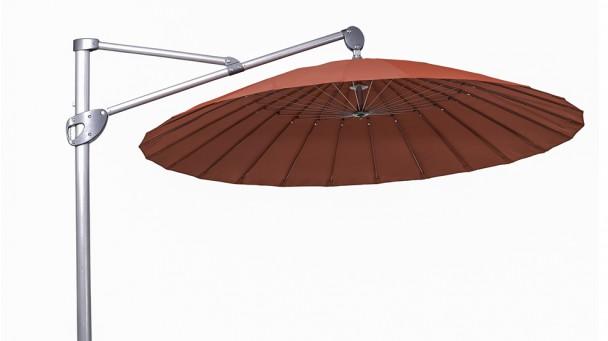 Parasol en aluminium AGAPANTHE, Ø280.0 cm