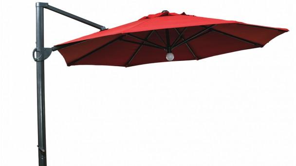 Parasol en aluminium MYOSOTIS