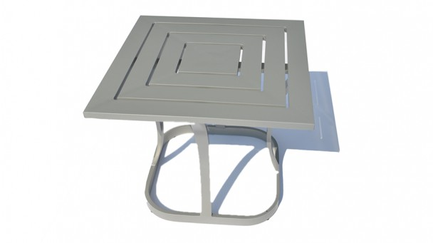 Table d'appoint en aluminium, ALBURY