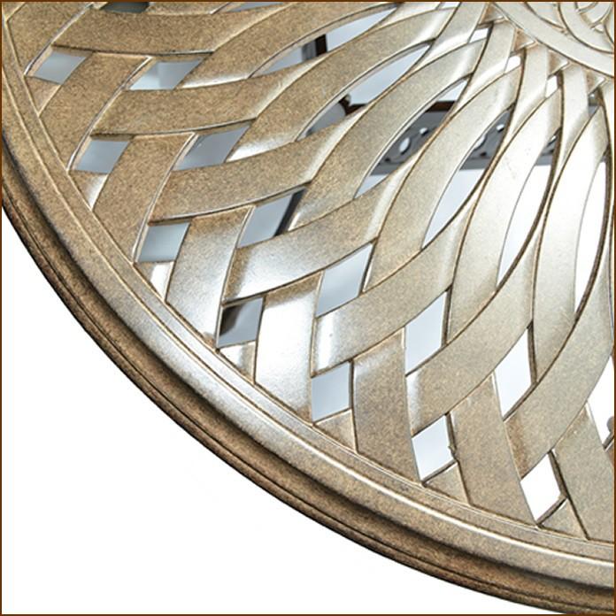 Salon oval en fonte d\'aluminium, L182.0 cm, ADELAIDE - Salons repas ...