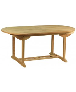 Table ovale en teck massif HYERES, 180.0 cm