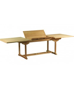 Table extensible en teck massif PAMPELONNE, 200-300.0 cm